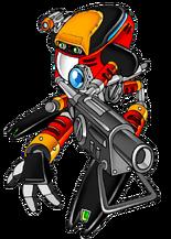 E-102 Gamma (Canon, Game Character)/Maverick Zero X
