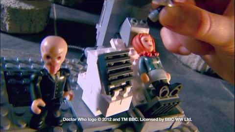 Character Building Doctor Who Silent Time Machine