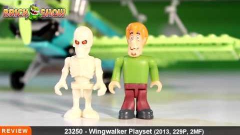 Scooby Doo Character Building Wingwalker Playset Review, Set 23250