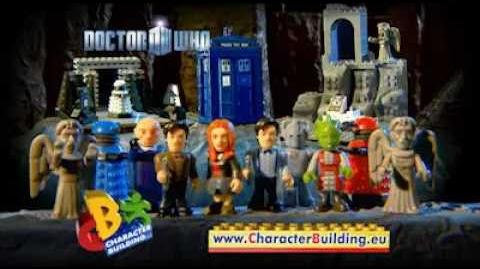 Character Building Doctor Who Playsets