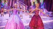 Barbie Mariposa & the Fairy Princess Mariposa & Catania dance at the Crystal Ball