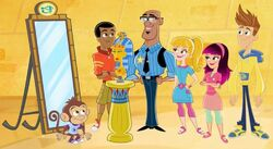 Fresh Beat Band of Spies Commissioner Goldstar The Nickelodeon Nick Jr. Character 3.jpg