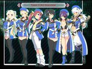 Choginga Senkan - Hyper Galaxy Fleet- Team 3 Art Overview
