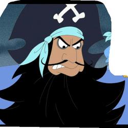 Blue Pirate Bob