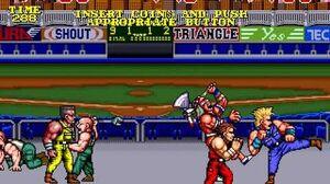 The Combatribes arcade 3 player Netplay