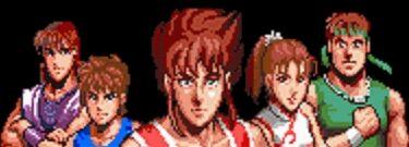 Ryuhi and 4 Dragon Warriors for Hiryuu no Ken S Golden Fighter