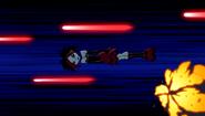 Argent dodging lasers
