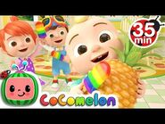 The Colors Song (with Popsicles) + More Nursery Rhymes & Kids Songs - CoComelon