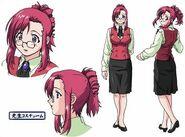 Mizuho's Teacher Outfit