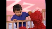 Elmo still awake baby