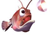 Glimmer the Anglerfish