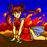 Youko Mano Cutscene for Sega Genesis 4