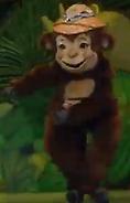 Barney's Colorful World Monkey