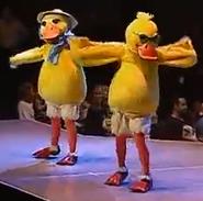 Barney's Colorful World Ducks