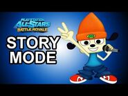 Playstation All Stars Battle Royale - PaRappa Story Mode Walkthrough!!