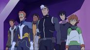 Shiro, Coran, Lance, Pidge, Keith and Hunk