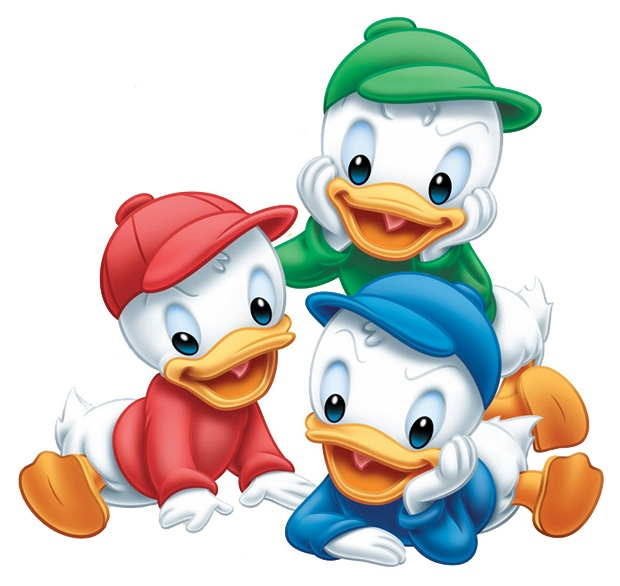 Huey, Dewey and Louie Duck