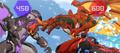 Drago attacking Garganoid