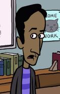 Deans cartoon abed