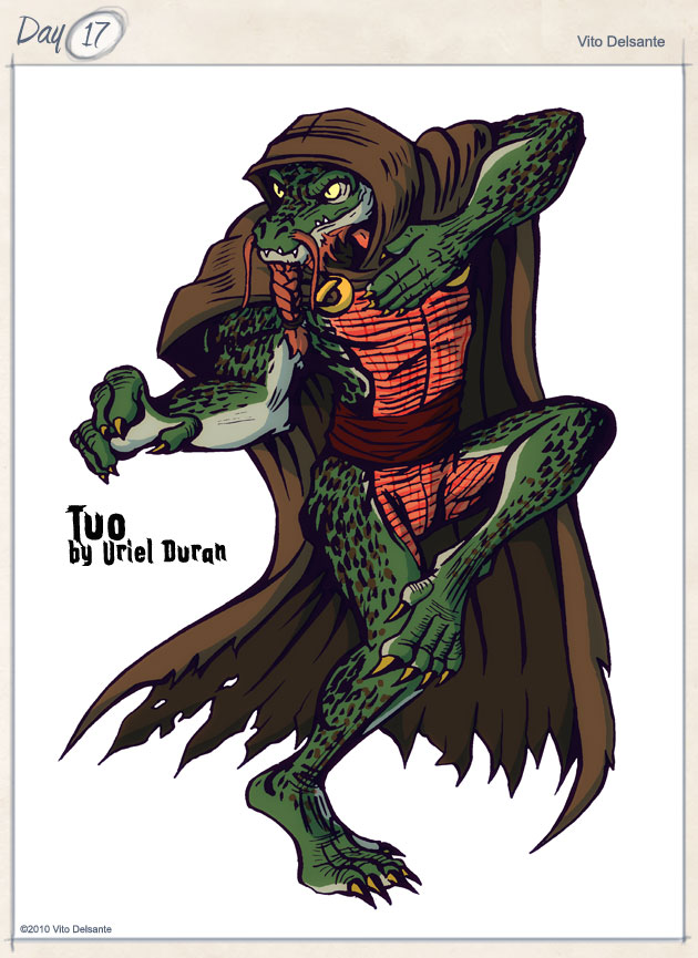 Tuo the Alligator Man