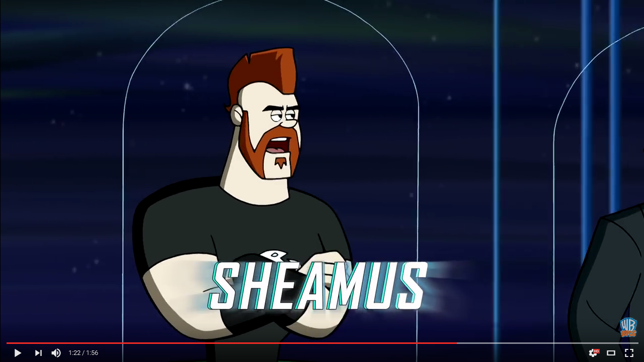 Sheamus (The Jetsons & WWE: Robo-WrestleMania!)