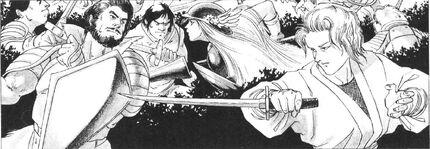 Seshoot and Femina Battle (The Enchanted Forest)