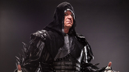Taker's new look
