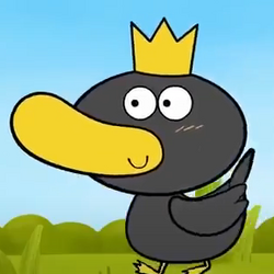 Duck with King's Crown