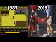 Graphical Evolution of Ys Games (1987-2019)