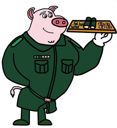 Dog A Tat the rat a tat Donnie Danner army soldier pig.jpg
