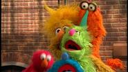 Rainbow Monster overlapse Sesame