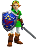Adult Link OoT 3D
