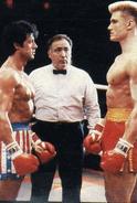Rocky Drago fight
