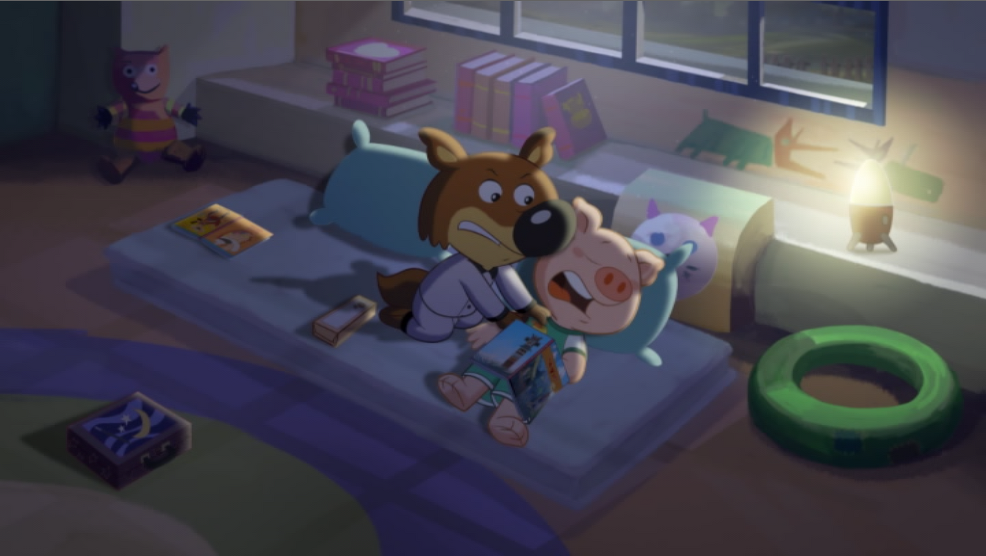 Anderson (Mini Wolf-Mini Loup) In Bed Scene 03.png