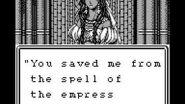 Wizardry Gaiden II Curse of the Ancient Emperor - Scaly Empress Battle Ending