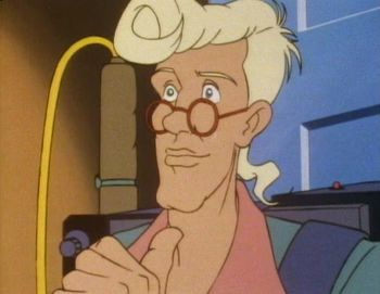Egon Spengler (The Real Ghostbusters)