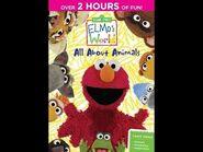 Elmo's World- All About Animals (2014 DVD)
