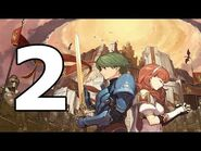 Fire Emblem Echoes Shadows of Valentia Walkthrough Part 2 - No Commentary Playthrough (3DS)