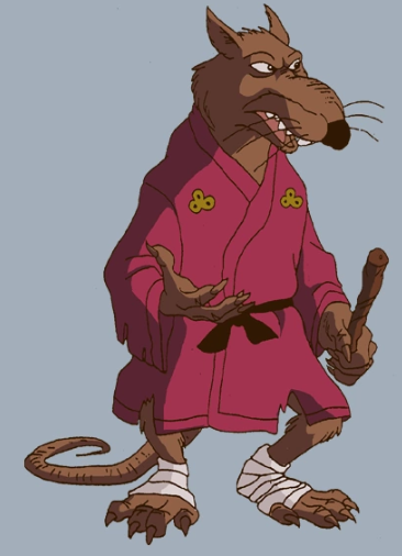 Master Splinter (TMNT 1987)