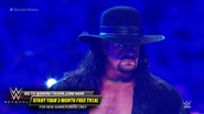 The Undertaker confronts John Cena