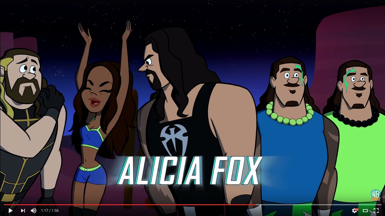 Alicia Fox (The Jetsons & WWE: Robo-WrestleMania!)