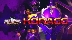Power Rangers Legacy Wars - Mystic Force Koragg