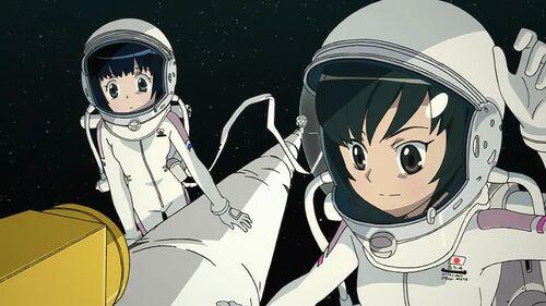 Akane Miura and Yukari Morita