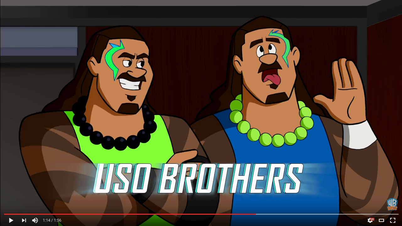 The Usos (The Jetsons & WWE: Robo-WrestleMania!)