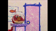 Dorothy and Elmo in Fish