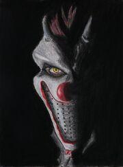 Horny the clown by crescentsun x.jpg