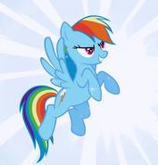 Rainbow Dash in Season 1 Episode 3 of My Little Pony Friendship is Magic