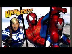 Ultimate Marvel VS Capcom 3 (Xbox 360) Arcade as Spider-Man, Iron Man & Captain America