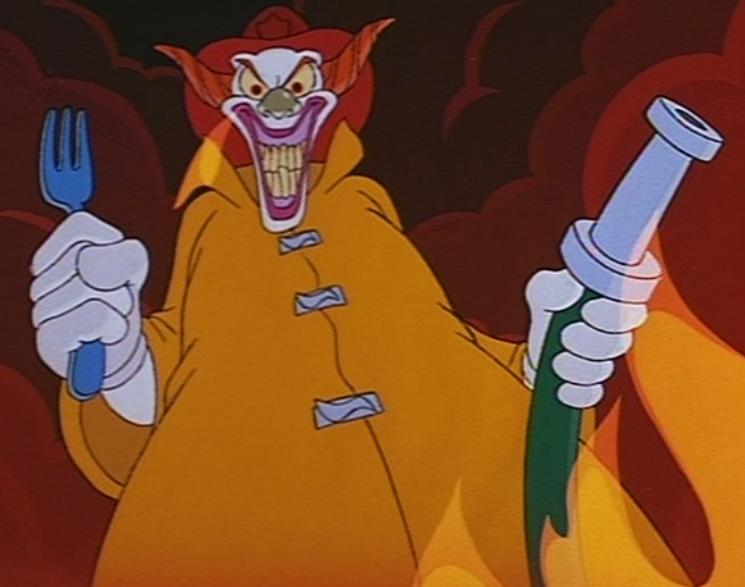 Evil Clown (The Brave Little Toaster)