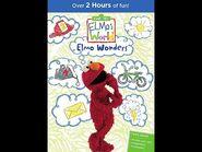 Elmo's World- Elmo Wonders (2016 DVD)